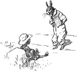 br'er rabbit and tar baby
